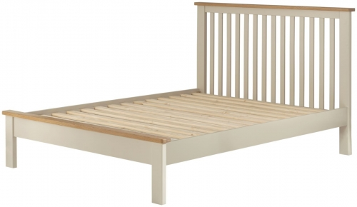 Brompton Cream 5'0 King Size Bed
