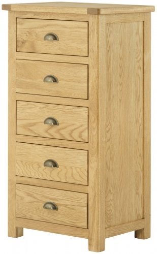 Brompton Oak Wellington Chest