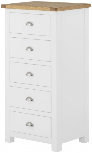 Brompton White Wellington Chest