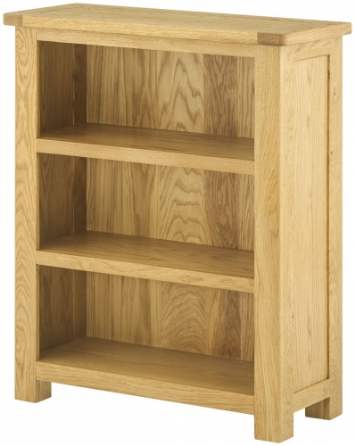 Brompton Oak Small Bookcase