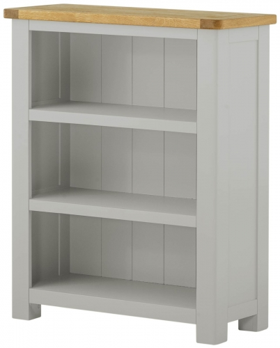 Brompton Stone Low Bookcase