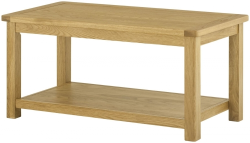 Brompton Oak Coffee Table