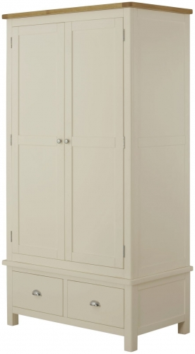 Brompton Cream Gents Wardrobe