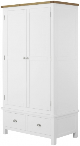 Brompton White Gents Wardrobe
