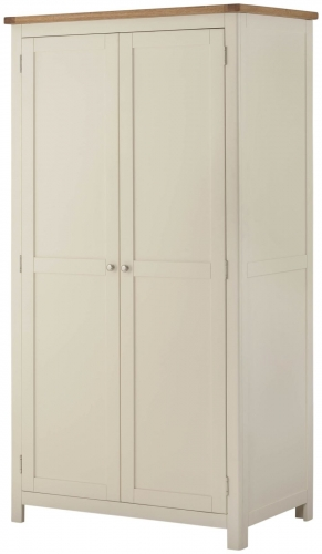 Brompton Cream Full Hanging Wardrobe