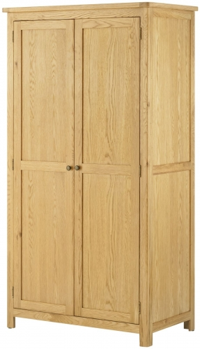 Brompton Oak Full Hanging Wardrobe