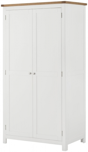 Brompton White Full Hanging Wardrobe
