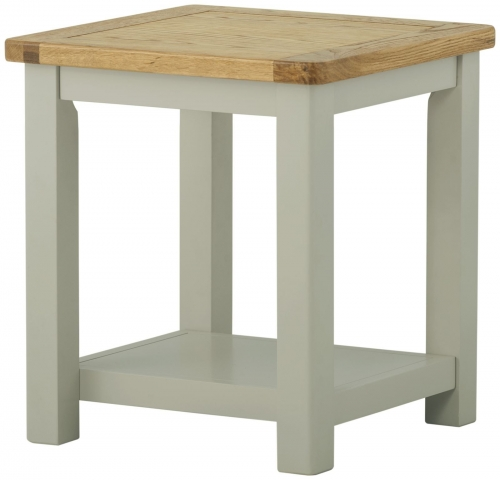 Brompton Stone Lamp Table