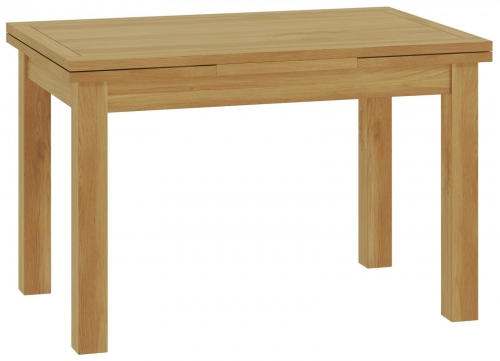Brompton Oak Drawerleaf Dining table