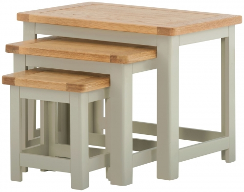 Brompton Stone Nest of Tables