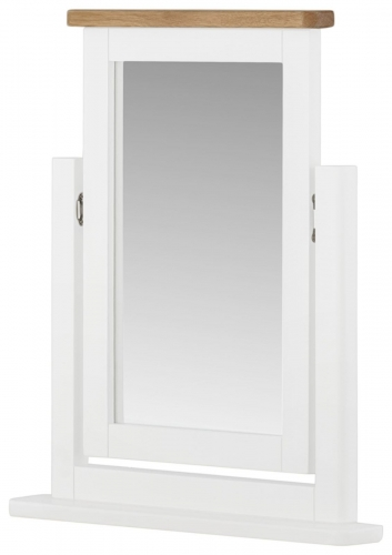 Brompton White Swing Mirror