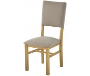 Brompton Oak Upholstered Dining Chair