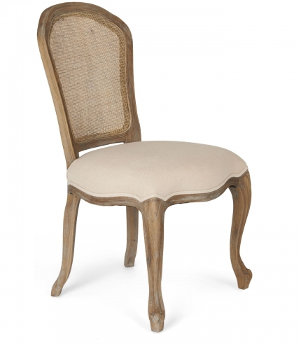 Dijon Limed Oak Bedroom Chair