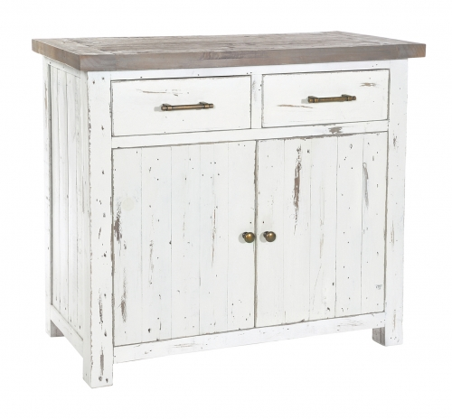 Whitley Distressed Timber Small Sideboard