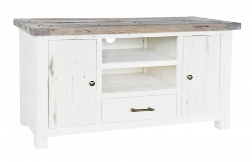 Armsgill Distressed Timber TV Unit