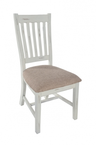 Armsgill Distressed Timber Dining Chair