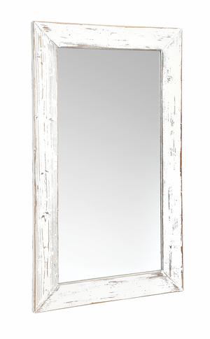 Whitley Distressed Timber Wall Mirror