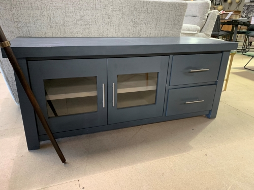 Farrow TV Unit with Glass Doors