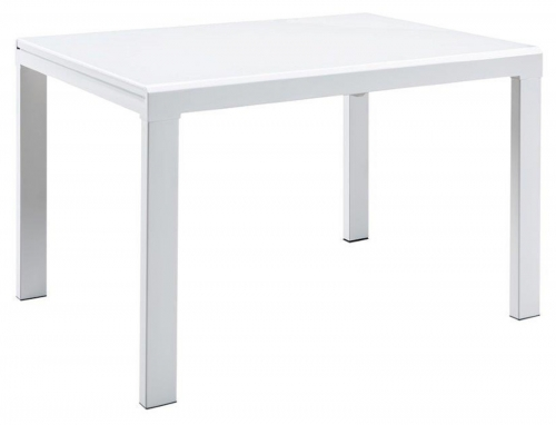 Phoenix Extending Dining Table - White