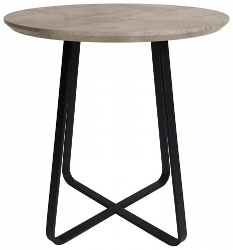 Manhattan Industrial Round Wine Table
