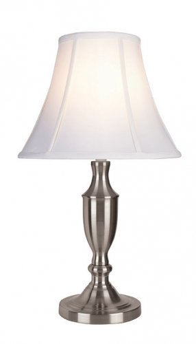 Vienna Small Table Lamp Chrome White