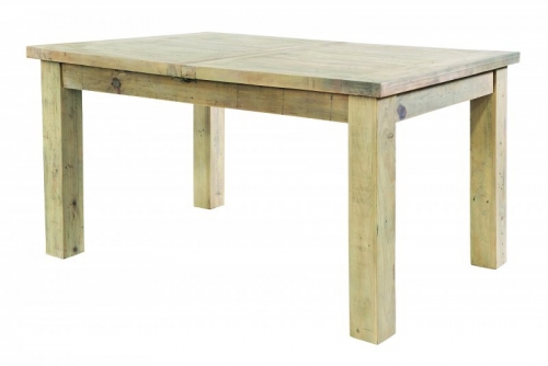 Bilsdale Driftwood 180cm Large Extending Dining Table