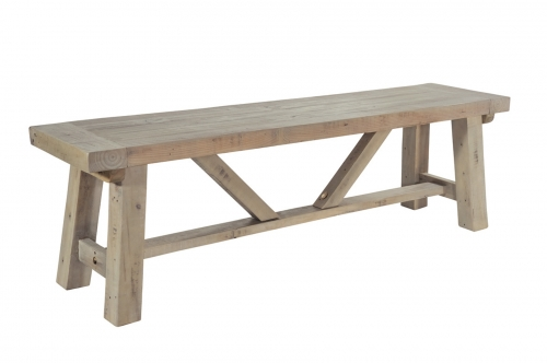 Bilsdale Driftwood Long Bench