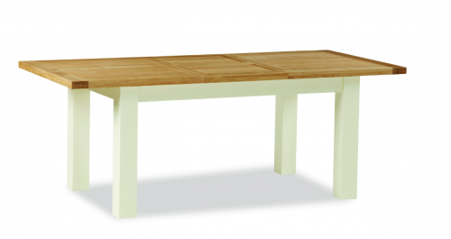 Dawlish Painted Oak Compact Extending Table 120/165