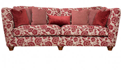 Piper Fabric 4 Seat Sofa