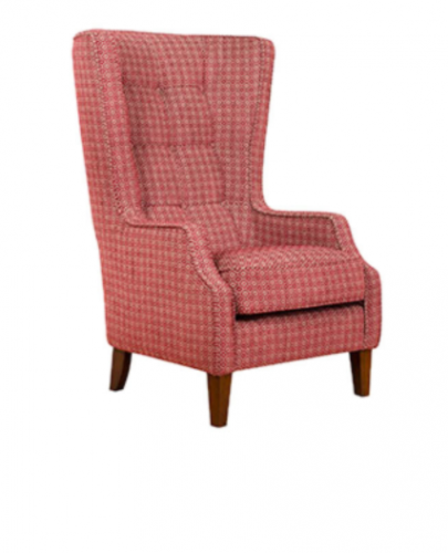 Piper Fabric Throne Chair