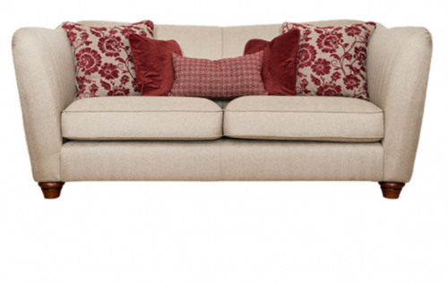 Piper Fabric 3 Seat Sofa
