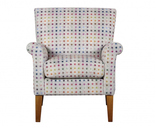 Luca Accent Chair Confetti