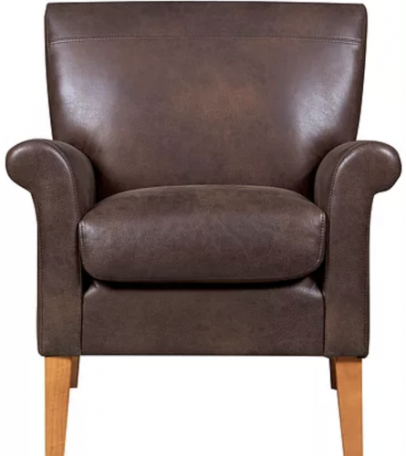 Luca Accent Chair Vintage Brown