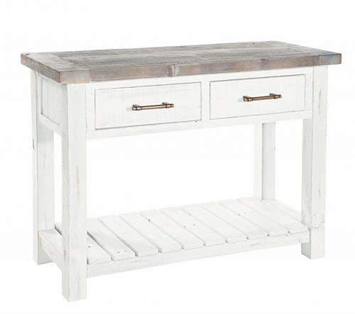 Armsgill Distressed Timber Console Table