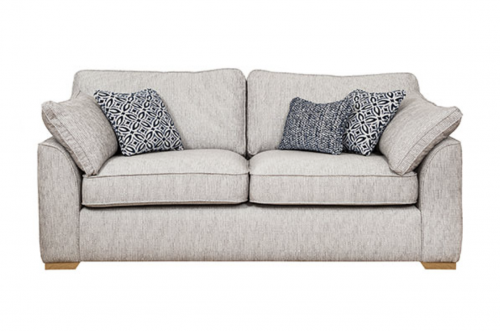 Lorna 3 Seat Fabric Sofa