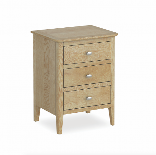 Harome Light Oak Bedside