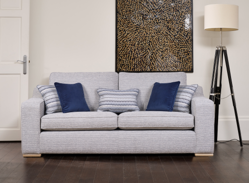 Carnaby Fabric Extra Large Fabric Sofa