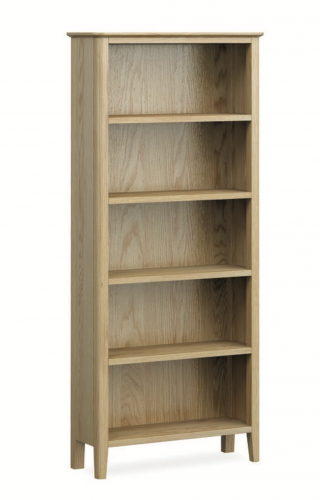 Harome Light Oak Large Bookcase