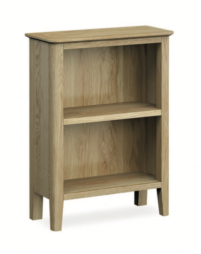 Harome Light Oak Small Bookcase
