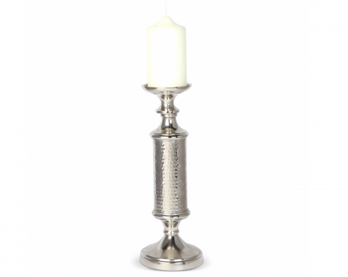 Trevi Silver Candle Holder - Large
