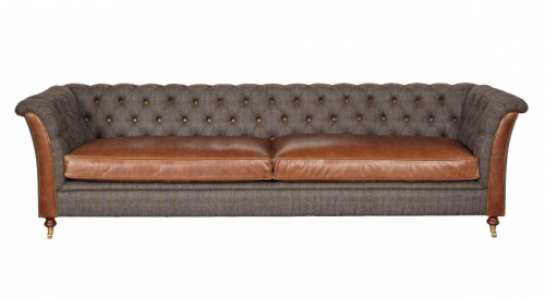 Caesar 4 Seat Leather Sofa