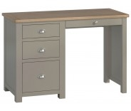 Brompton Stone Single Pedestal Desk