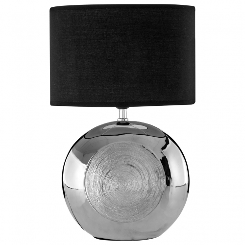 Holly Silver Ceramic Table Lamp