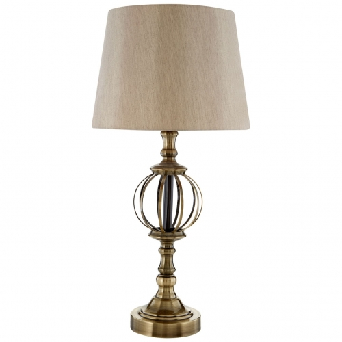 Jakarta Antique Brass Table Lamp