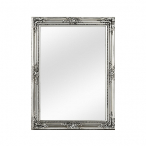 Silver Gilt Mirror Large