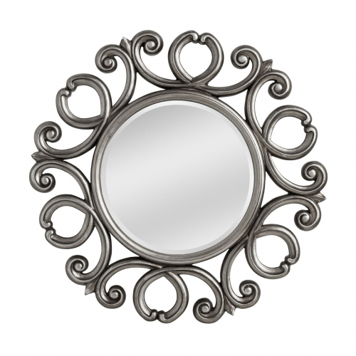 Entwined Silver Framed Mirror