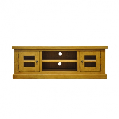 Priory Oak Large TV Unit