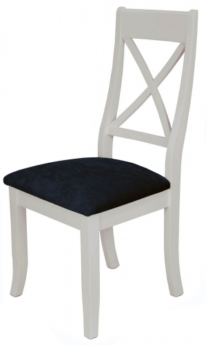 Brompton Stone X Back Dining Chair