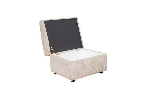Fabric Storage Footstool