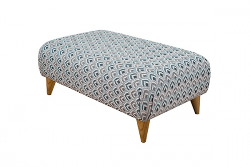 Fabric Style Footstool